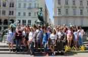 С минуты на минуту ждём студентов на июльские каникулы в Праге!