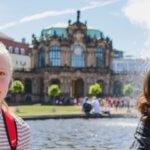 студентки в Дрездене eurostudy