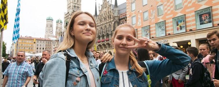 студентки МСМ в Мюнхене eurostudy