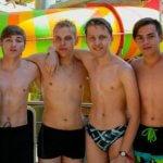 студенты МСМ в аквапарке eurostudy