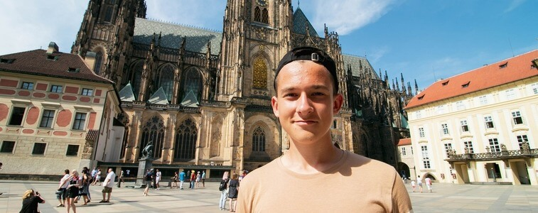 экскурсия в Пражский Град eurostdudy