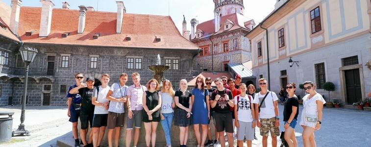 поездка студентов МСМ в Чески-Крумлов eurostudy