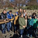 Весенние каникулы: знаменитый Пражский зоопарк.дети улыбаются