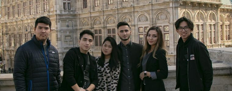путешествие в Вену студентов МСМ eurostudy
